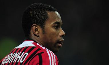 Robinho, în perioada în care juca la AC Milan / Foto: Getty Images