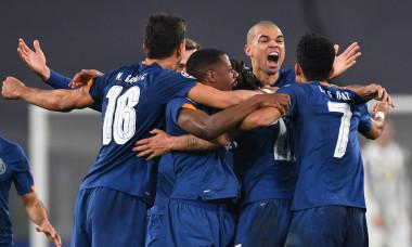 Fotbaliștii lui Porto, în meciul cu Juventus / Foto: Getty Images