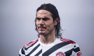LONDON, ENGLAND - MARCH 03: Edinson Cavani during the Premier League match between Crystal Palace and Manchester United at Selhurst Park on March 3, 2
