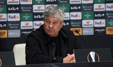 Post-match news conference of Dynamo after 1-1 draw with Club Brugge in Kyiv, Ukraine - 18 Feb 2021