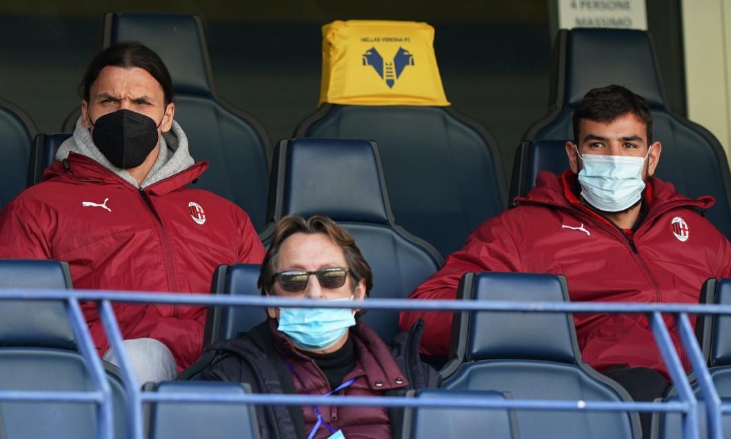 Hellas Verona vs Milan - Serie A Tim 2020 2021