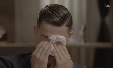 Cristiano Ronaldo was reduced to tears during an interview with Piers Morgan