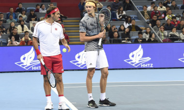 Hangzhou international tennis invitational tournament: federer's debut