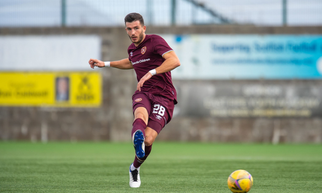 Cowdenbeath FC v Heart of Midlothian FC, Betfred Scottish League Cup - 10 Oct 2020