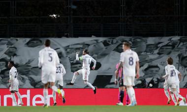 Sergio Ramos, după golul marcat în meciul cu Atalanta / Foto: Getty Images