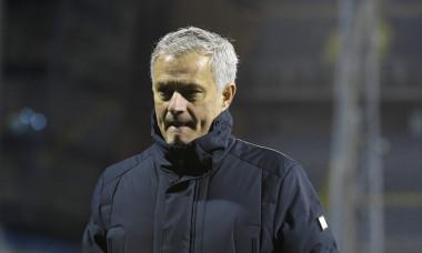 Jose Mourinho, după înfrângerea cu Dinamo Zagreb / Foto: Getty Images