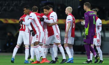 Fotbaliștii lui Ajax, în meciul cu Young Boys Berna / Foto: Getty Images