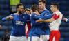 Glen Kamara și Ondej Kudela, în meciul Rangers - Slavia Praga / Foto: Profimedia
