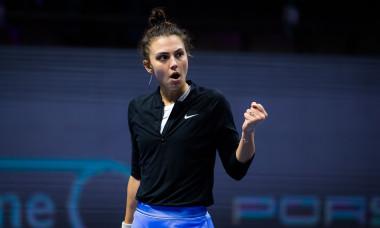 Jaqueline Cristian, în meciul cu Svetlana Kuznetsova / Foto: Profimedia