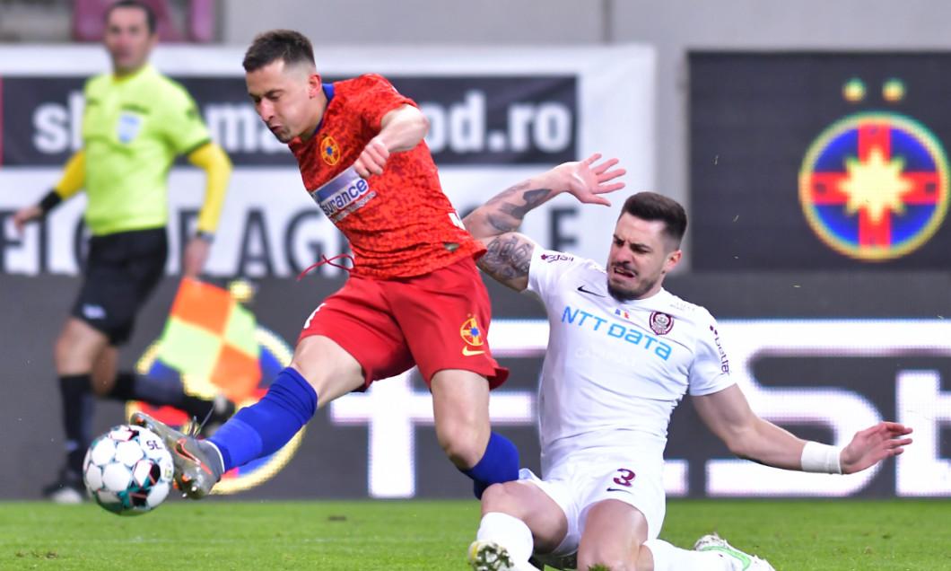Olimpiu Moruțan, în meciul FCSB - CFR Cluj / Foto: Sport Pictures