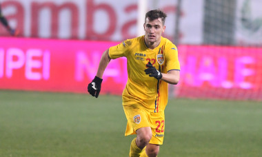 Darius Olaru, în tricoul României U21 / Foto: Sport Pictures