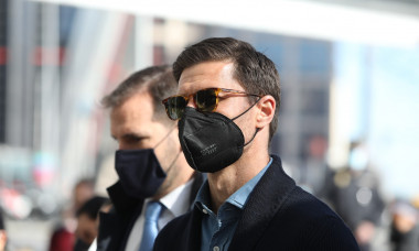 Xabi Alonso goes to the Plaza de Castilla Courts (Madrid)