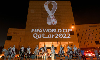 (SP)QATAR-DOHA-QATAR WORLD CUP-LOGO-UNVEILING