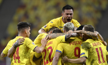 BUCHAREST: Romania v Northern Ireland - UEFA Nations League B