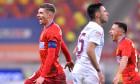 Florin Tănase, Olimpiu Moruțan și Mario Camora, în meciul FCSB - CFR Cluj 3-0 / Foto: Sport Pictures