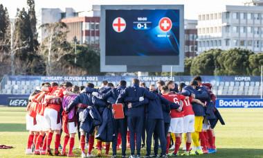 Echipa Elveției U21, după succesul cu Anglia / Foto: Profimedia