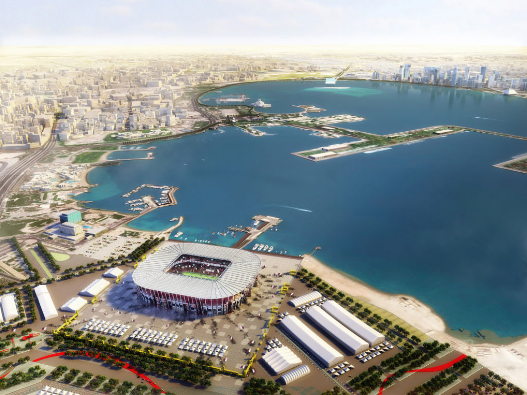 Rendered Illustrations Of Qatar 2022 Venues