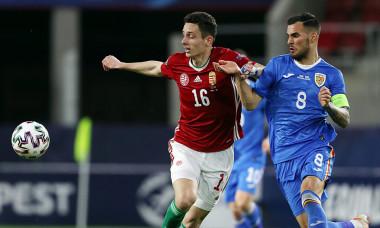 Marius Marin și Norbert Szendrei, în meciul România U21 - Ungaria U21 / Foto: Profimedia