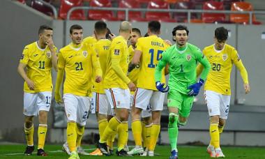 Romania v North Macedonia - FIFA World Cup 2022 Qatar Qualifier, Bucharest - 25 Mar 2021