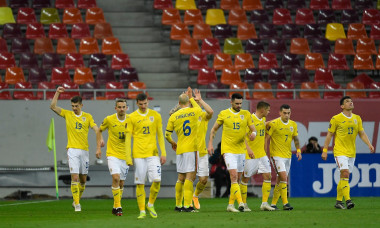 Romania v North Macedonia - FIFA World Cup 2022 Qatar Qualifier, Bucharest - 25 Mar 2021