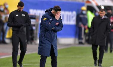 Mirel Rădoi, selecționerul României / Foto: Sport Pictures