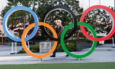 Logo-ul Jocurilor Olimpice, la Tokyo / Foto: Profimedia