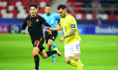 Marius Marin, căpitanul naționalei României U21 / Foto: Sport Pictures