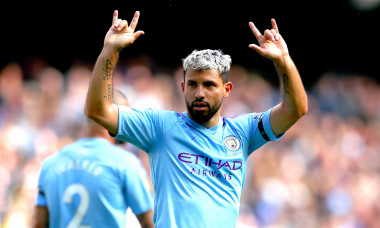 Sergio Aguero File Photo