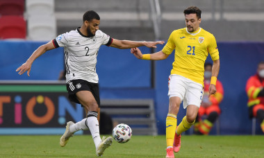 Adrian Petre, în meciul România U21 - Germania U21 / Foto: Profimedia