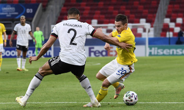 Alexandru Mățan, în meciul România U21 - Germania U21 / Foto: Profimedia