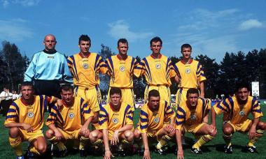 FUSSBALL: Nationalmannschaft/Nationalteam RUMAENIEN /( ROM ) 11.10.97