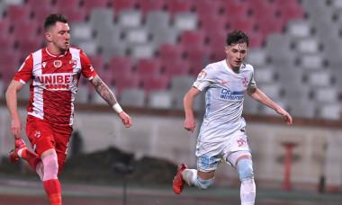 Deian Sorescu și Adrian Niță, în meciul Dinamo - FCSB / Foto: Sport Pictures