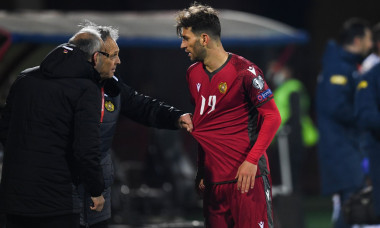 Armenia Soccer World Cup Qualifiers Armenia - Romania