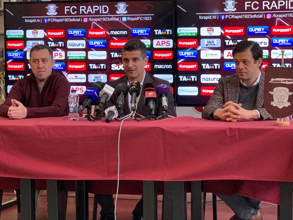 """Primul nume mare dispus să vină lângă Daniel Niculae la Rapid: """"Mă bucur că s-a gândit la mine"""""""
