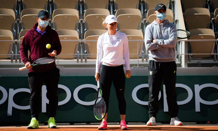 French Open Tennis, Saturday Previews, Roland Garros, Paris, France - 26 Sep 2020