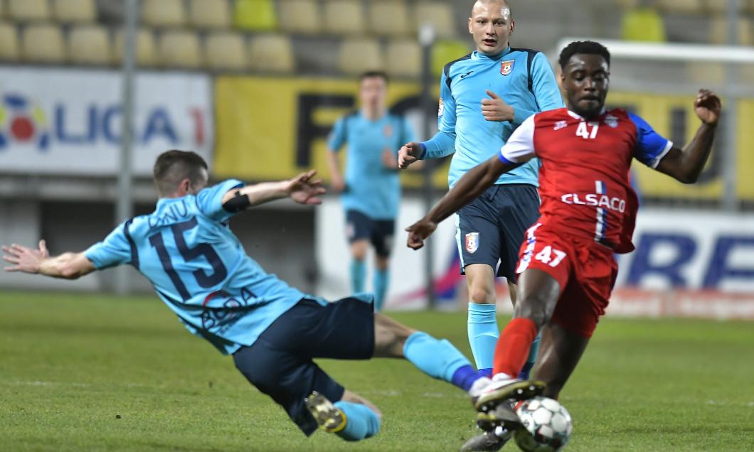 FOTBAL:CHINDIA TARGOVISTE-FC BOTOSANI, LIGA 1 CASA PARIURILOR (4.02.2021)