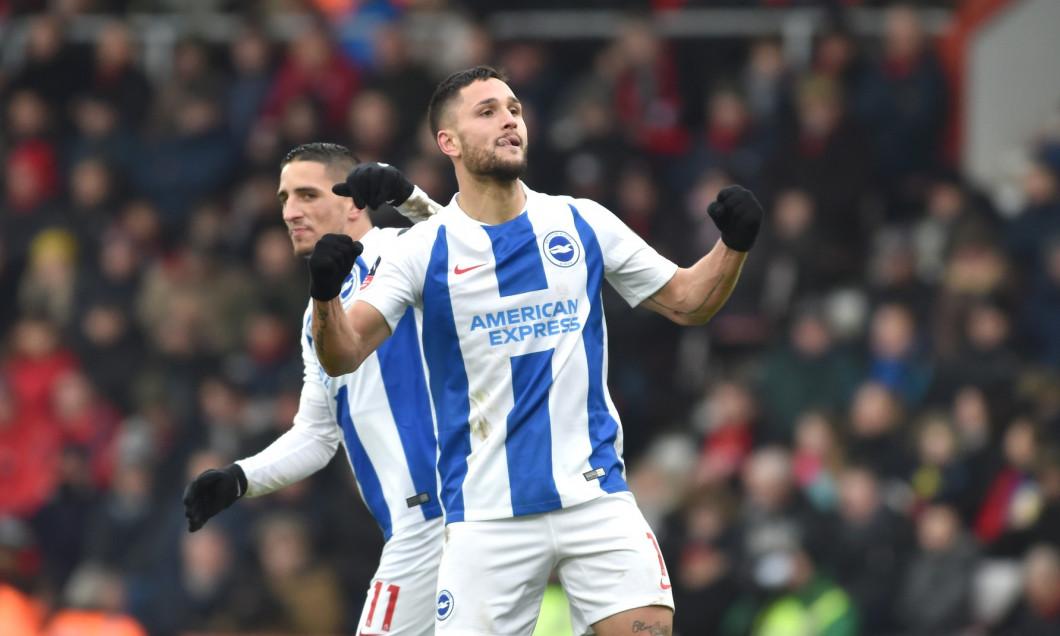 AFC Bournemouth v Brighton & Hove Albion, The Emirates FA Cup Third Round, Football, Vitality Stadium, Bournemouth, UK - 05 Jan 2019