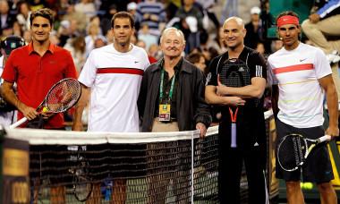 Roger Federer - Sampras - Agassi