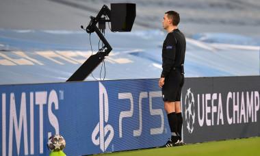 Ovidiu Hațegan, în meciul Manchester City - Borussia Dortmund / Foto: Profimedia