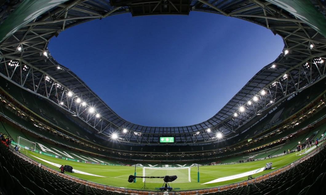 Republic of Ireland v Denmark, UEFA Euro 2020 Qualifying Group D, Football, Aviva Stadium, Dublin, Ireland - 18 Nov 2019
