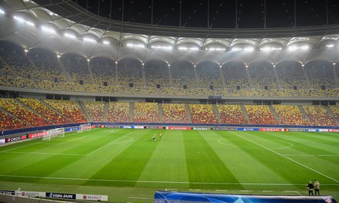 Atletico Madrid Training Session, Bucharest, Romania - 22 Feb 2021