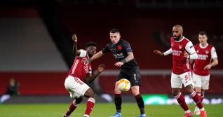 Arsenal v Slavia Praha - UEFA Europa League - Quarter Final - First Leg - Emirates Stadium