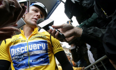 Lance is a 2020 documentary directed by Marina Zenovich about the life of Lance Armstrong.This photograph is for editorial use only and is the copyright of the film company and/or the photographer assigned by the film or production company and can only