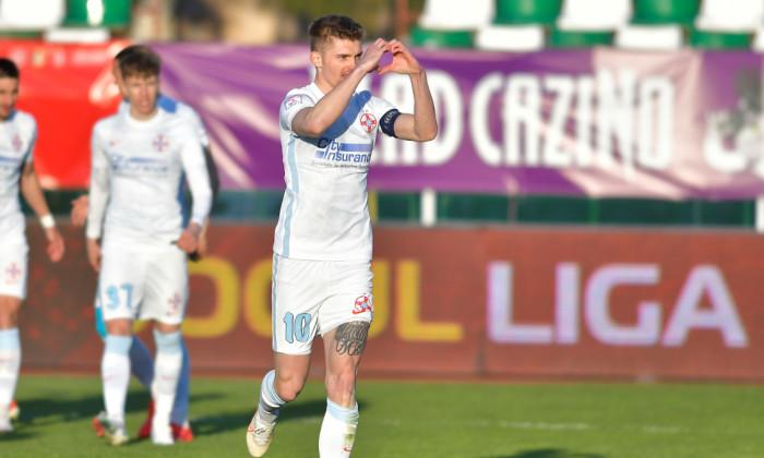 Florin Tănase, după golul marcat în Sepsi - FCSB 1-1 / Foto: Sport Pictures
