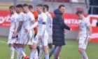 Toni Petrea și fotbaliștii de la FCSB, după meciul cu UTA Arad / Foto: Sport Pictures