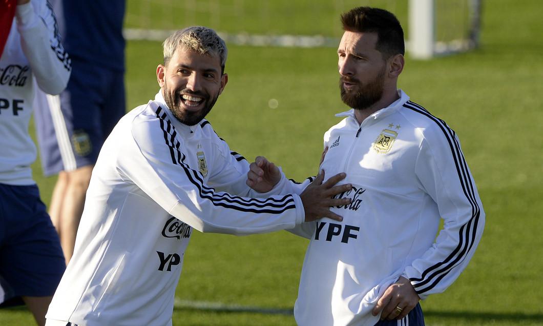 Aguero și Messi
