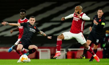 Arsenal v Slavia Prague, UEFA Europa League, Quarter Final, First Leg, Football, Emirates Stadium, London, UK - 08 Apr 2021