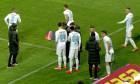 FCSB a făcut cinci schimbări la pauza meciului cu CFR Cluj / Foto: Captură Digi Sport