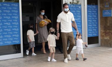 Sergio Ramos, alături de Pilar Rubio și copii / Foto: Profimedia