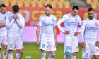 Andrei Istrate, Denis Haruț, Adrian Șut și Valentin Crețu, după înfrângerea suferită de FCSB cu CFR Cluj, în Supercupa României / Foto: Sport Pictures
